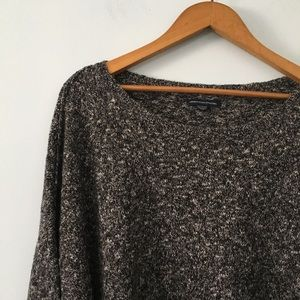 American eagle marled sweater